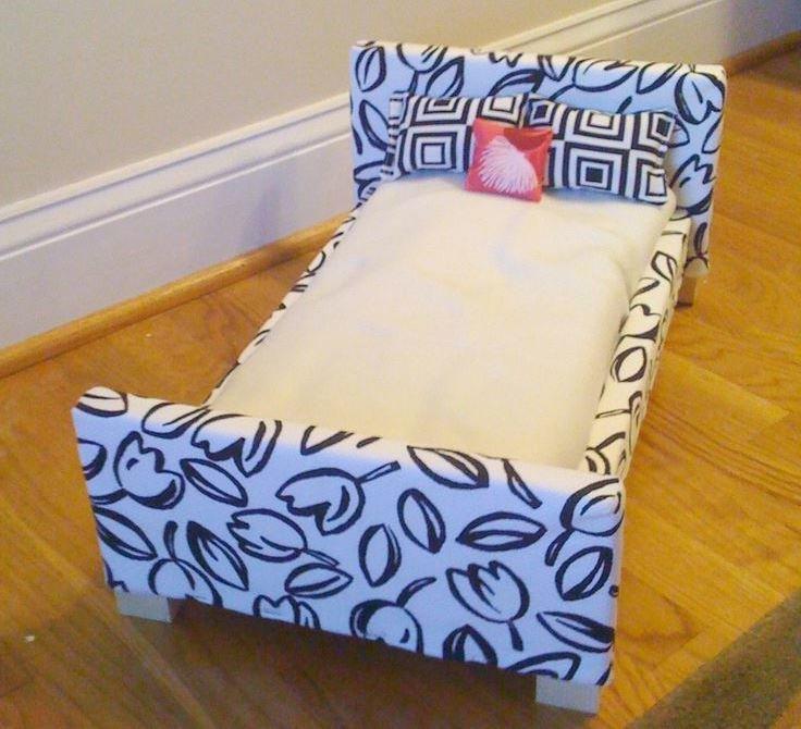 Кровати для куклы своими руками 83