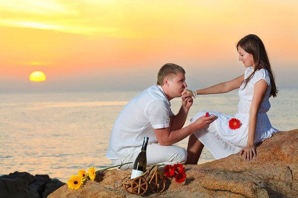 Как сделать романтичное предложение руки 578