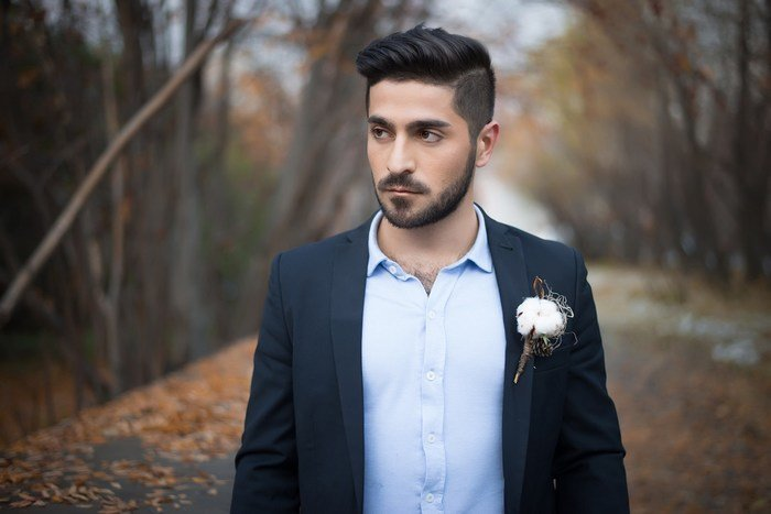 Мужские причёски на свадьбу