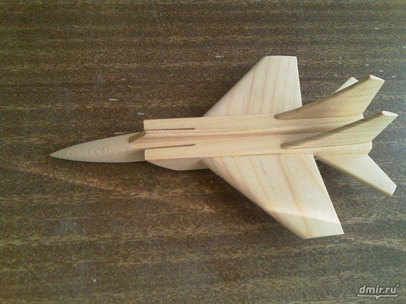 Макеты самолетов из дерева