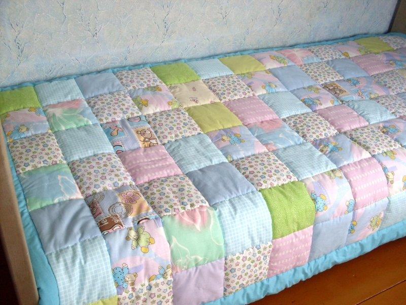 Как своими руками сшить лоскутное одеяло