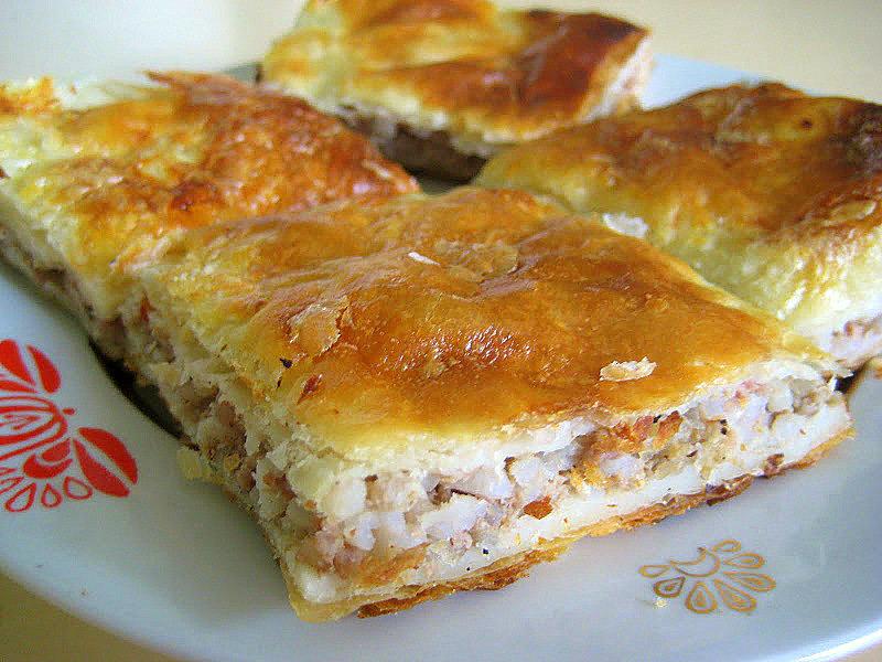 Вкусный пирог с фаршем рецепт с фото