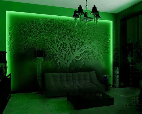 Светодиодная подсветка стен своими руками 138