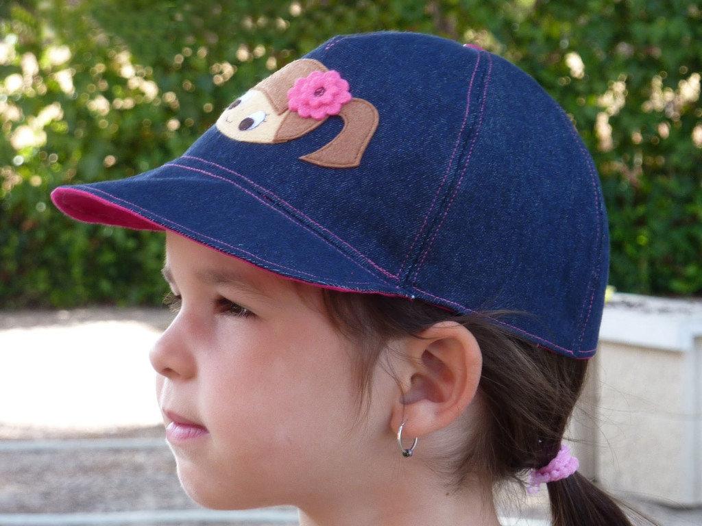Как украсить кепку своими руками для девочек 4