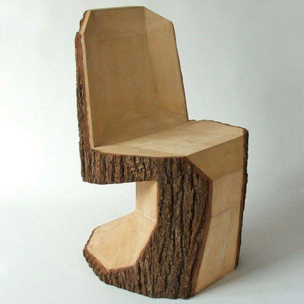 Поделка стул из дерева