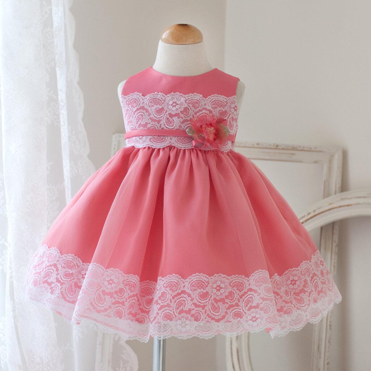 Нарядное платье для девочки сшить с пышной юбкой 51
