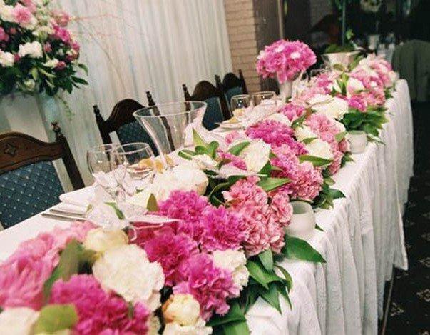 Цветы использующие на свадьбе