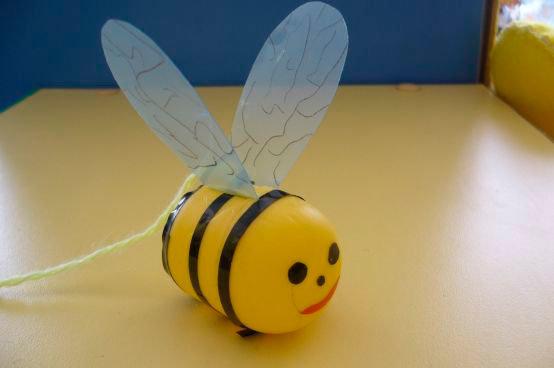 Как сделать пчелку из