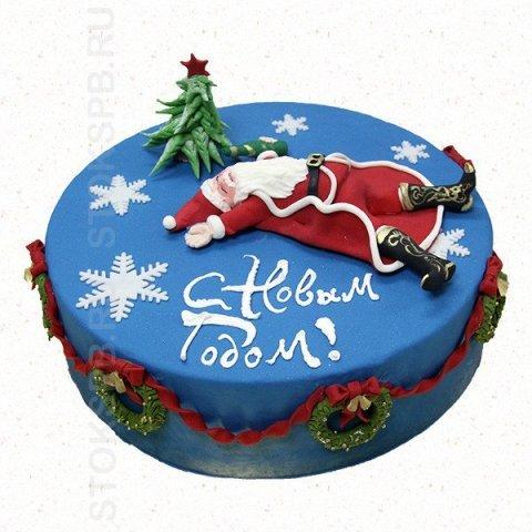 Торт на заказ на новый год 2017