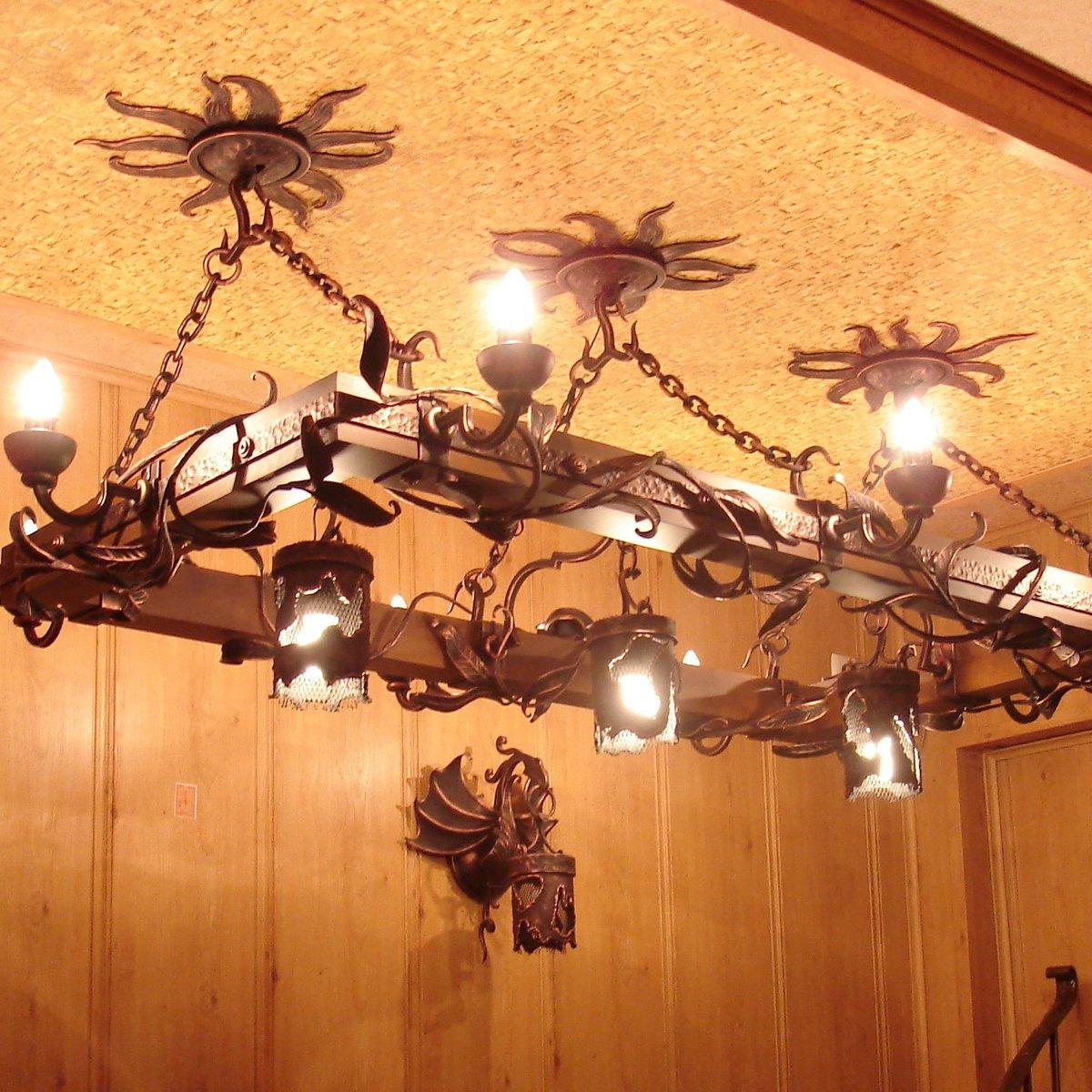Дизайнерские люстры из металла низкие цены, доставка на дом