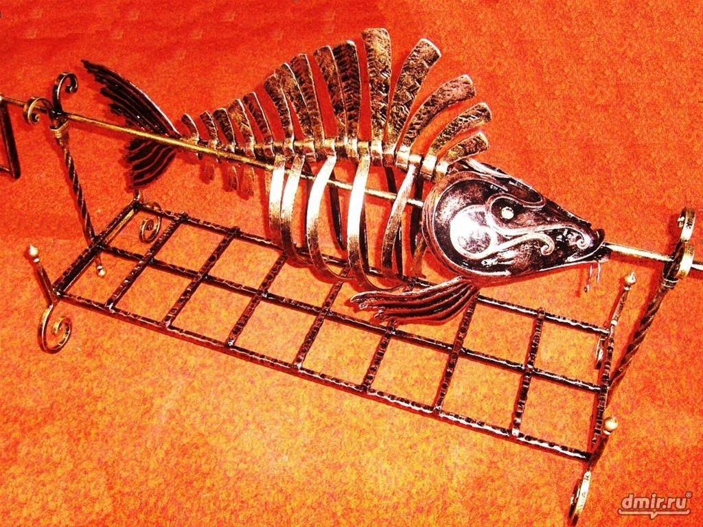 Рыба из металла своими руками 44