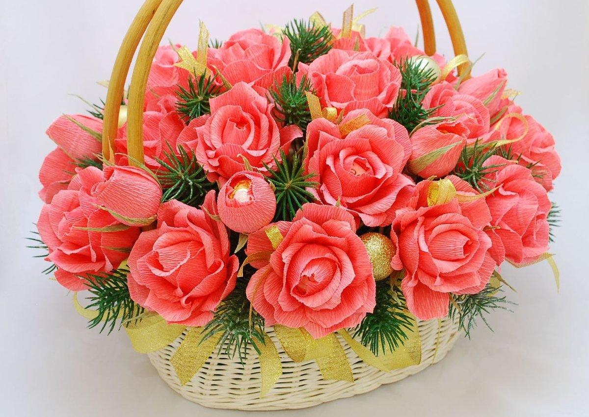 Подарки цветы и улыбки