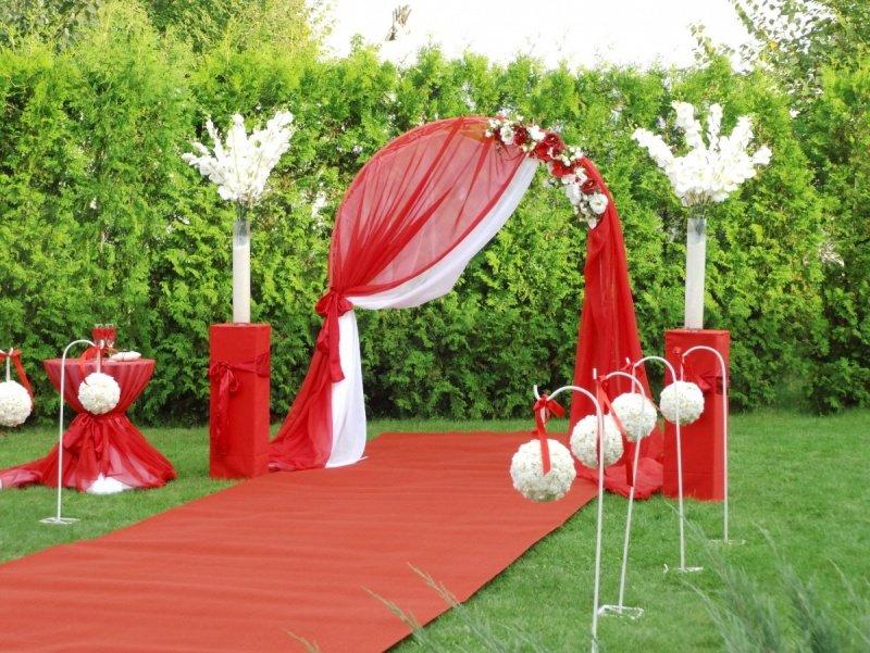 Украшение своими руками для свадьбы арка 26
