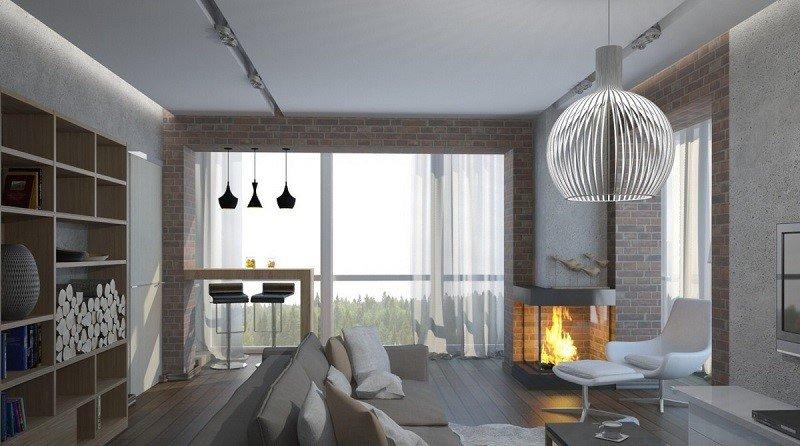 Проект дизайн квартиры 2017-2018
