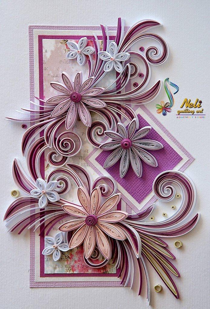 Рисунки для открытки своими руками 9