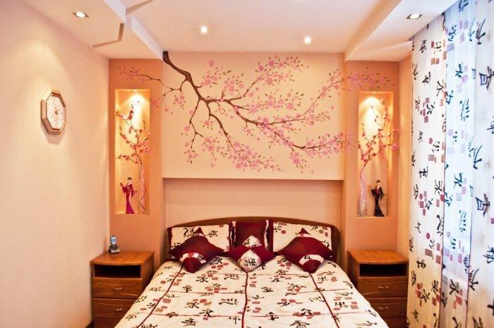 Декор спальной комнаты своими руками 77