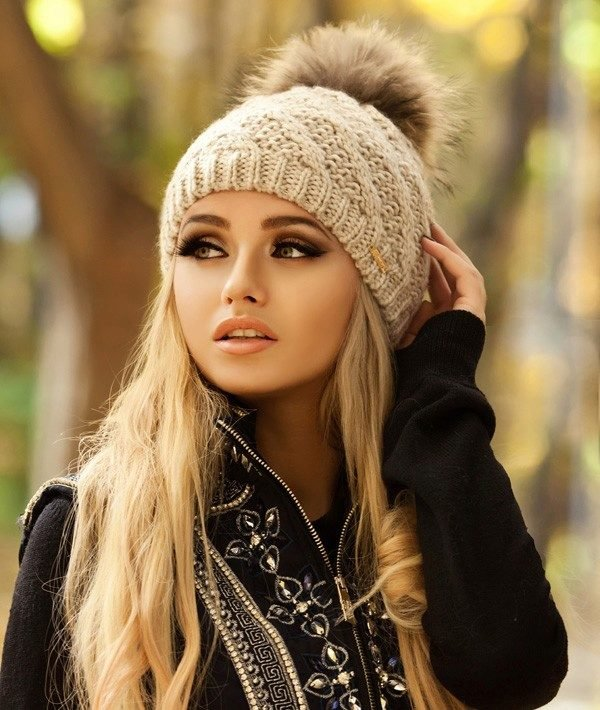 Фото шапки зимние женские