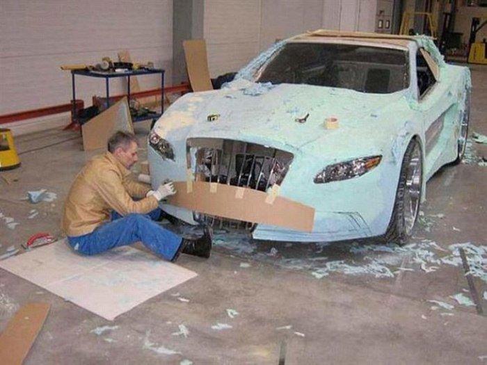 Реставрация машины своими руками 12