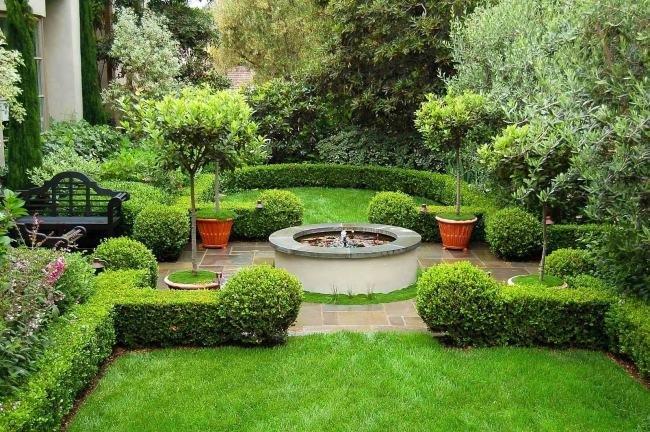 Как сделать красивый сад у себя на  167