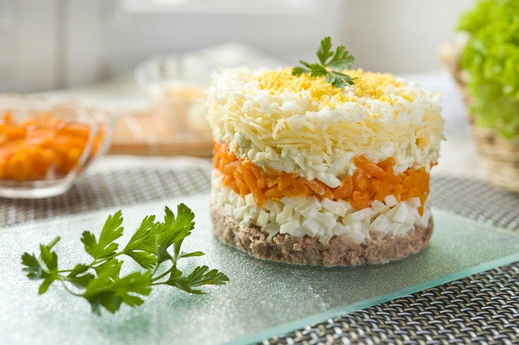 Салат мимоза рецепты с простые и вкусные
