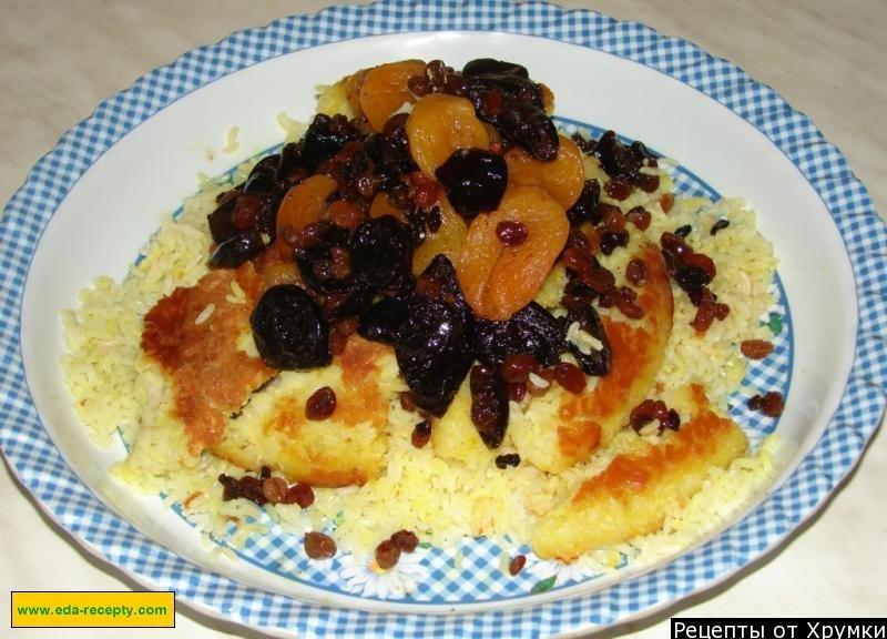Плов сладкий с изюмом рецепт пошагово