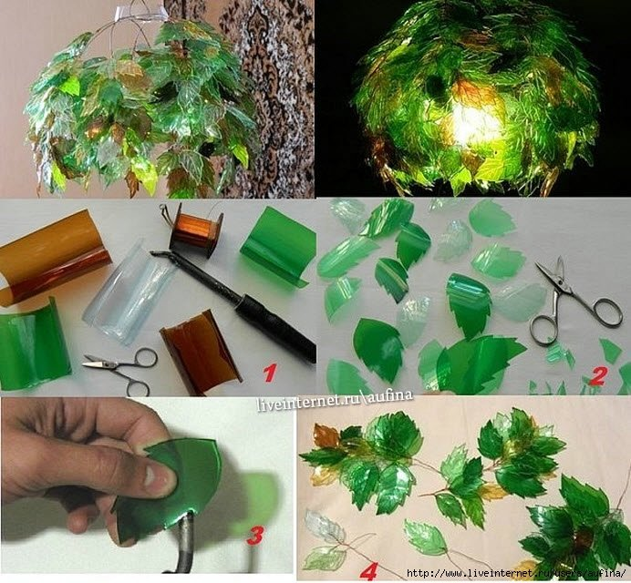 Креативные поделки из пластиковых бутылок своими руками