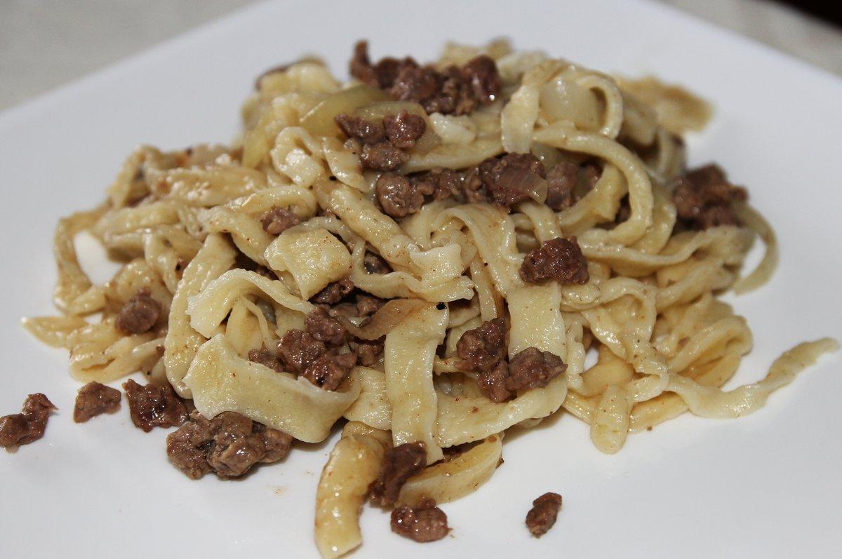 Шампиньоны макароны рецепт пошагово