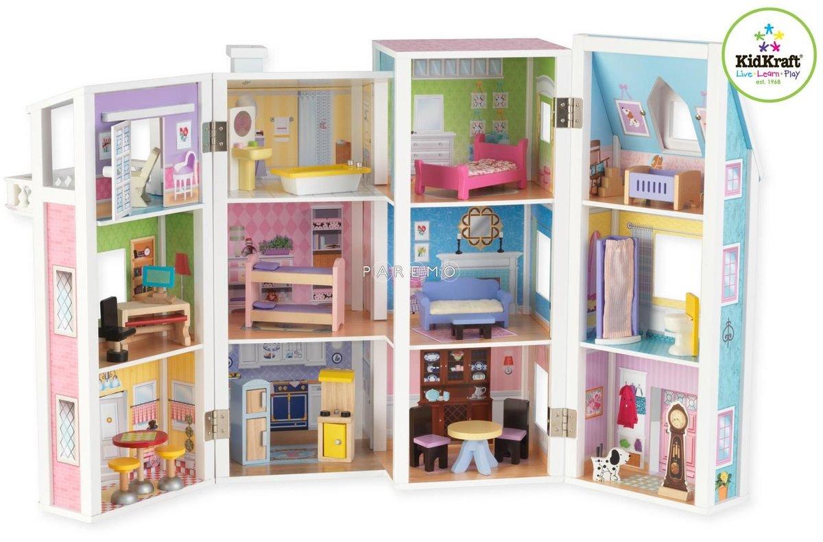 Дом книжка для кукол своими руками ютуб