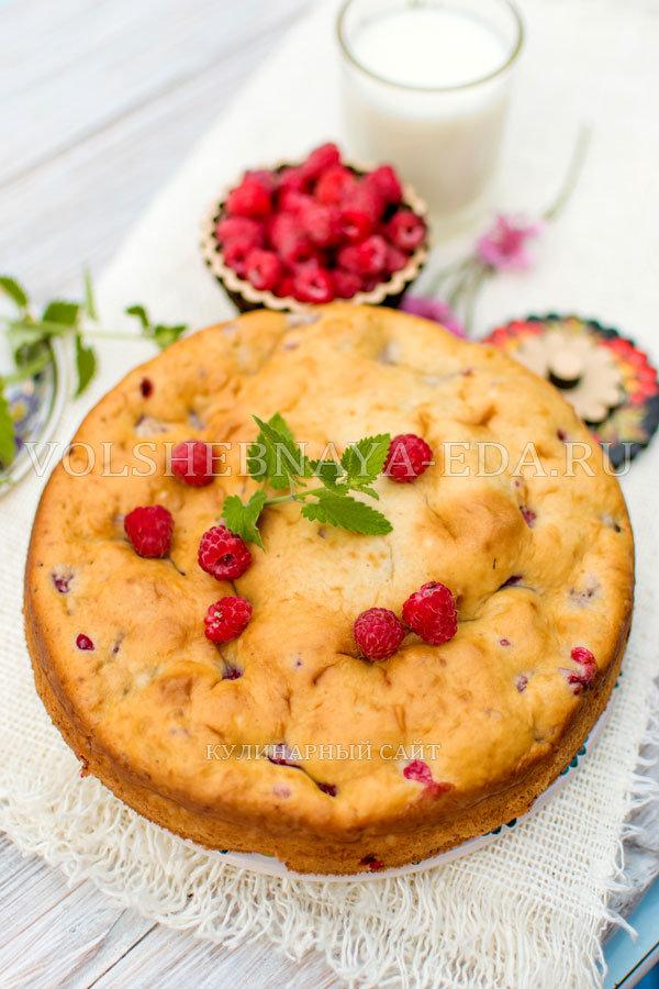 Рецепт сладкий пирог на кислом молоке