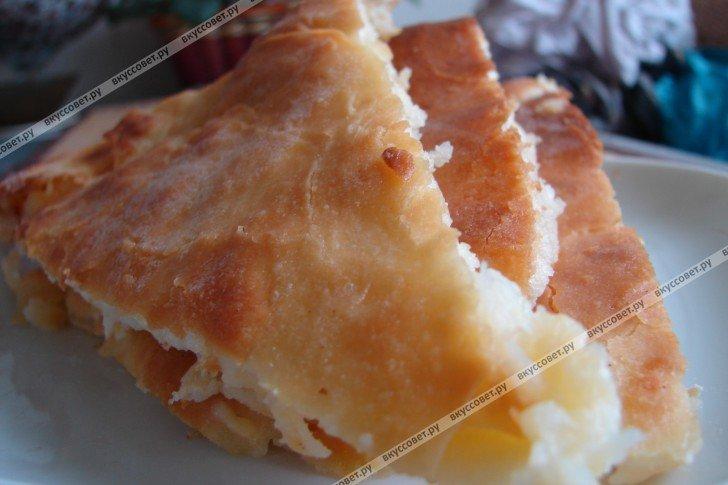 Осетинские пироги рецепт с сыром пошаговый рецепт с