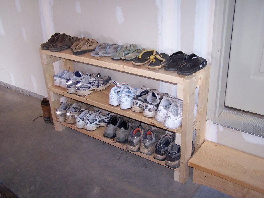 Обувница из дерева своими руками фото 3