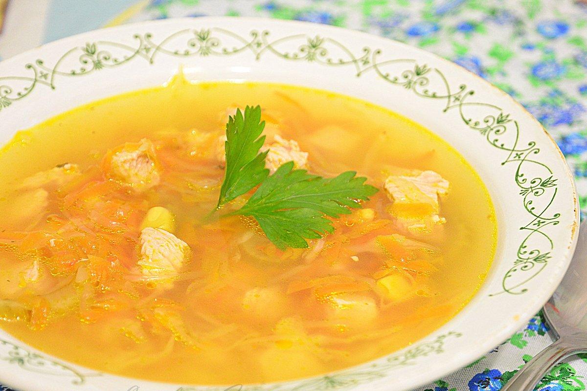 Бульон куриный с овощами рецепт пошагово