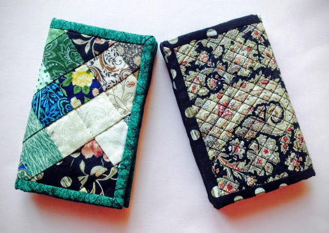 Бумажник из ткани своими руками 5