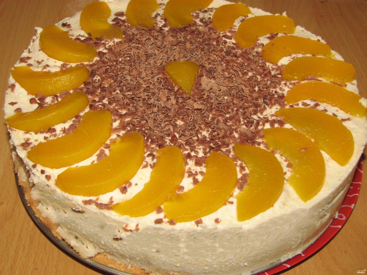 Торт из готовых бисквитных коржей 78