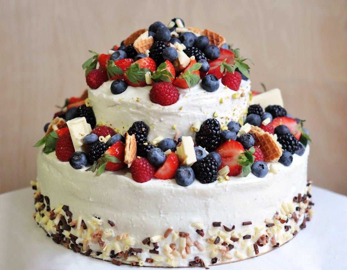 Двухъярусный торт в домашних условиях с мастикой рецепт