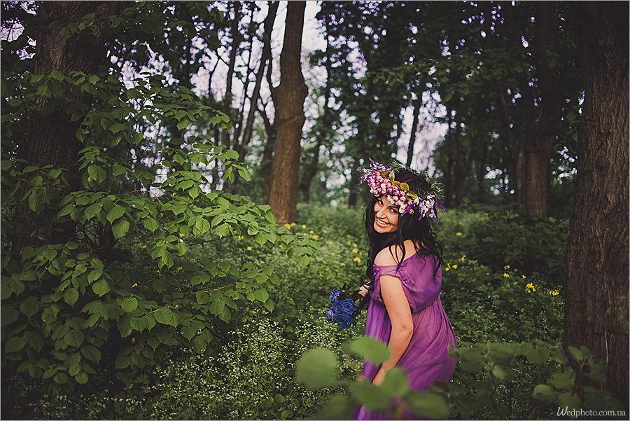 Беременная в лесу фото 90