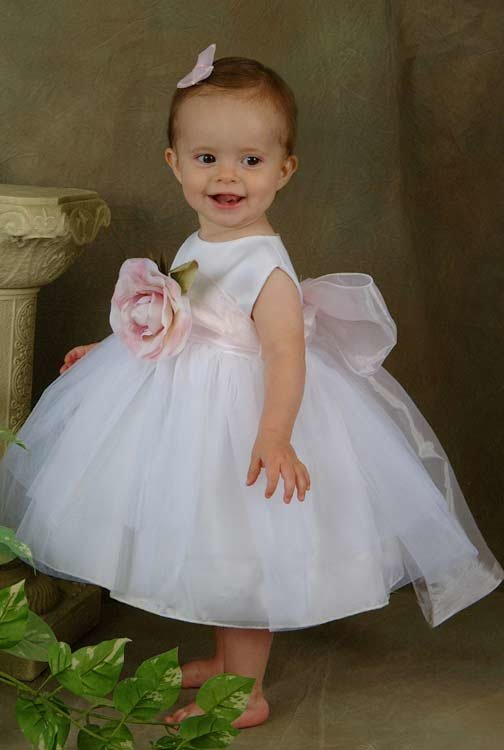 Как сшить пышное платье на годовалую девочку 29