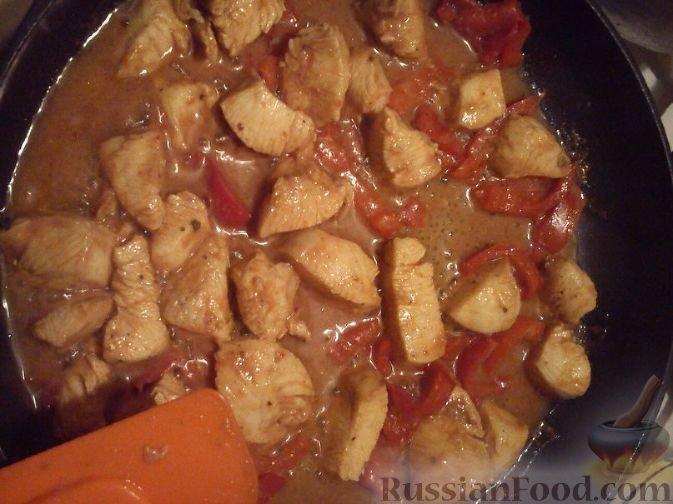 Куриное филе по китайски рецепт с фото