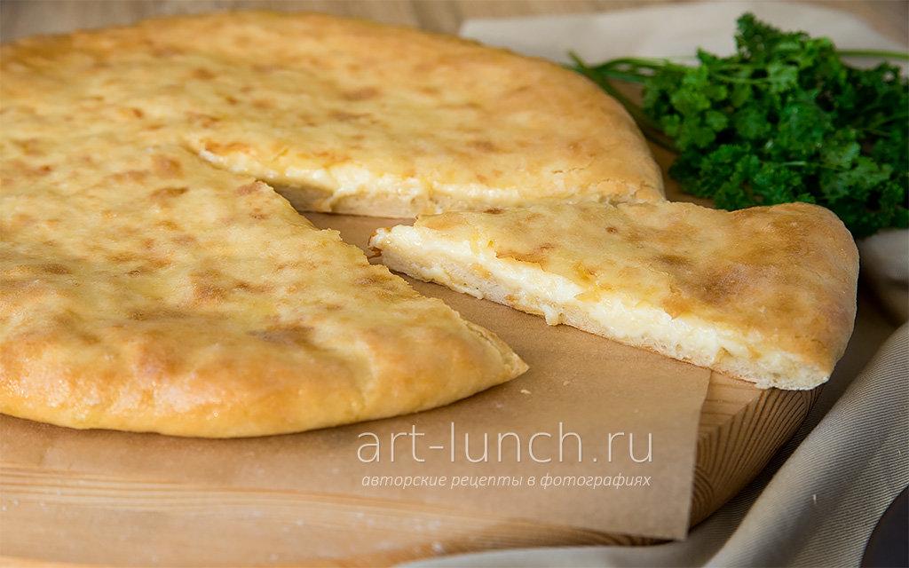 Хачапури с сыром пошагово