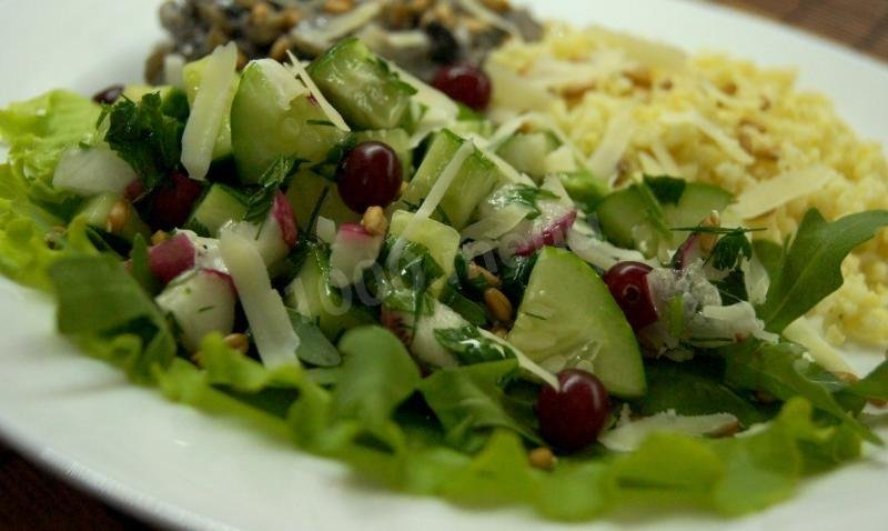 Фото салат домашний