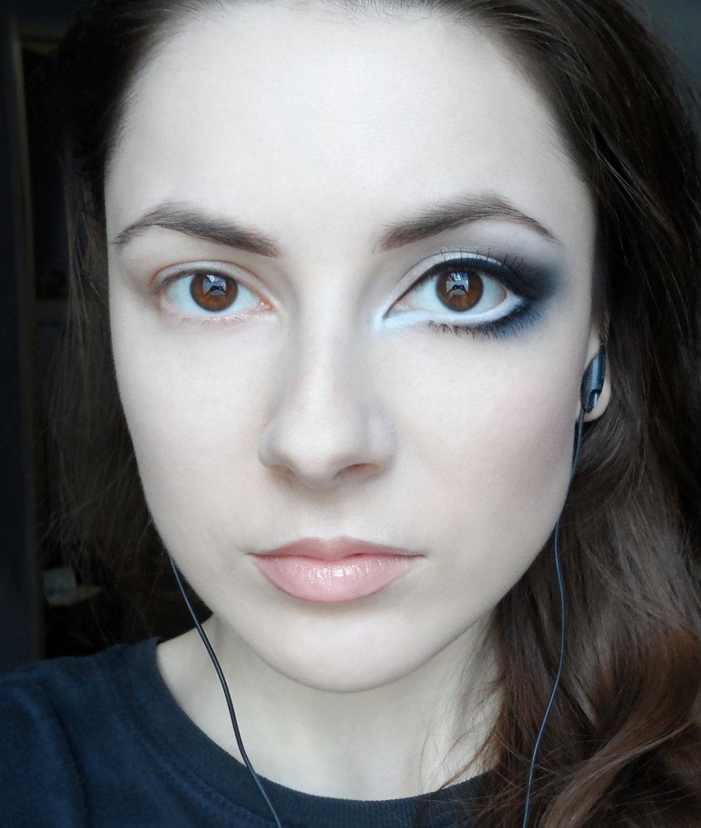 фото макияжей для блондинки вечерний