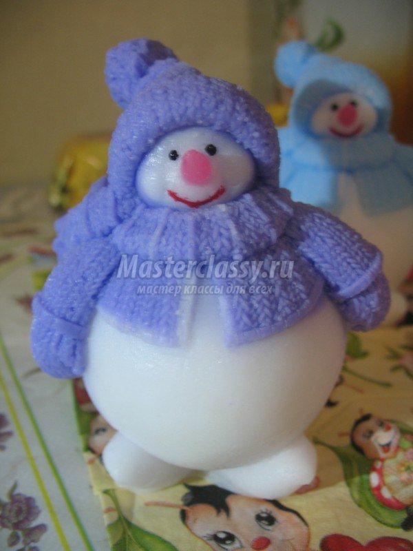 Снеговик своими руками мастер класс с пошаговым фото