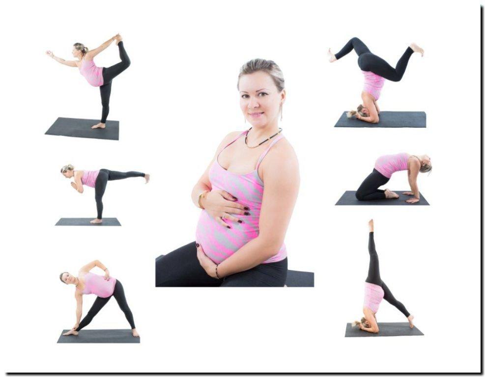Комплекс йоги для беременных 45