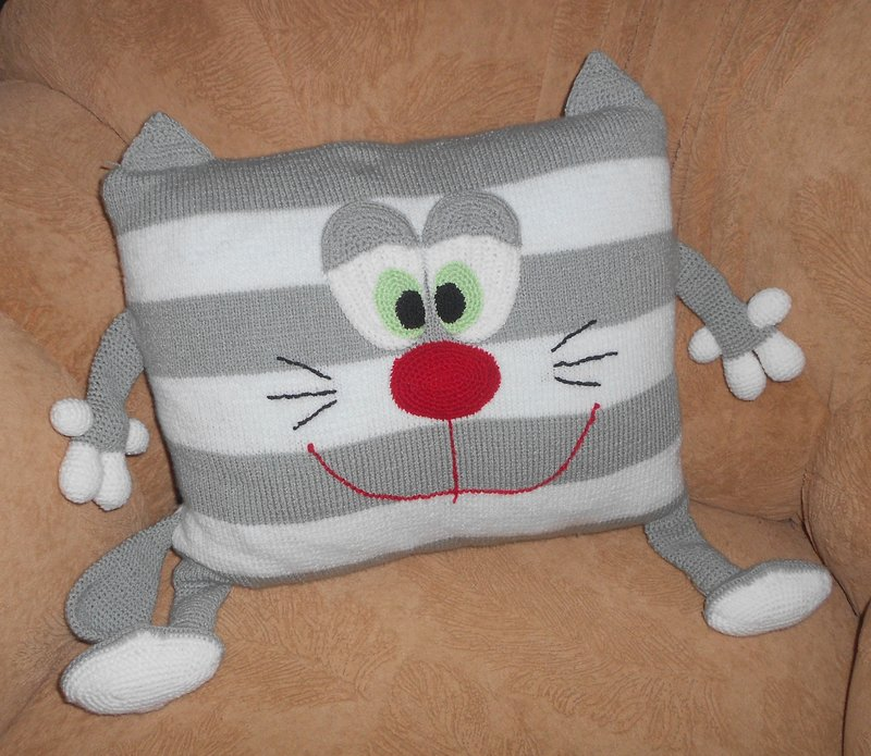 Прикольные наволочки на подушки своими руками