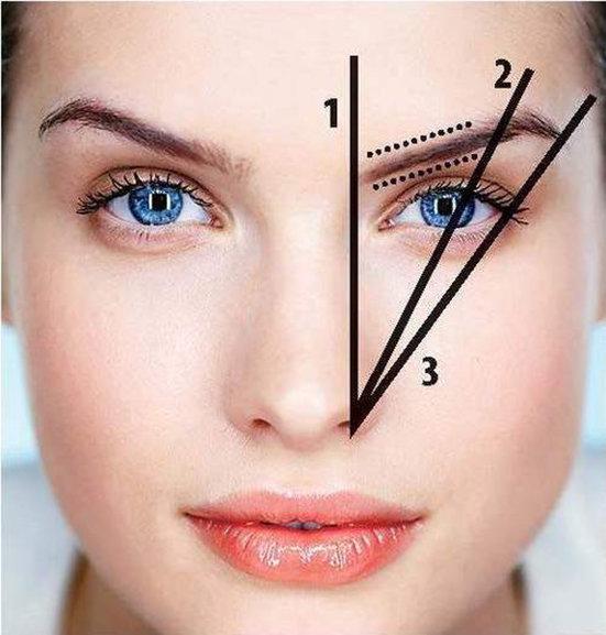 Как сделать правильные брови фото