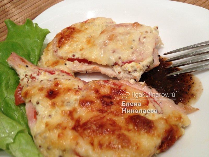 Сковорода с курицей рецепт