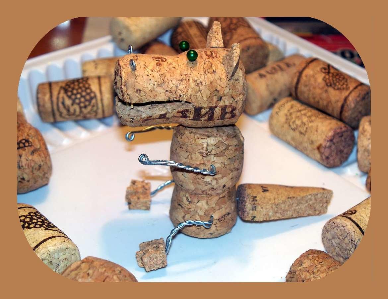 Какие поделки можно сделать из пробок из под шампанского