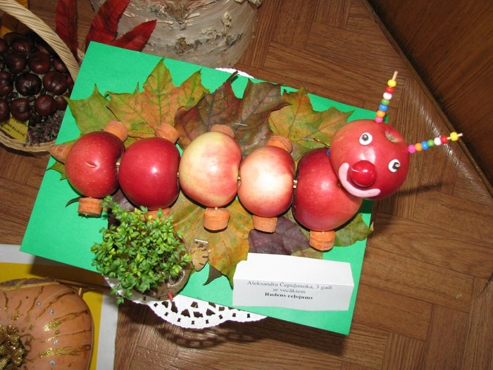 Поделки для детского сада тема осень фото 8