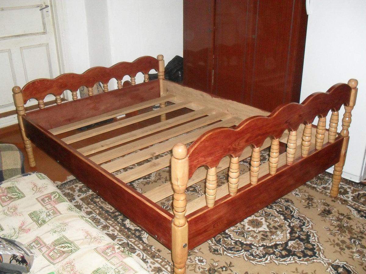Деревянные кровати своими руками фото 11