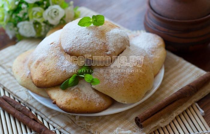 Печенье на кефире в духовке пошагово